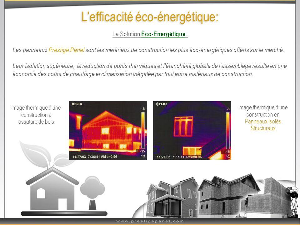 L'efficacité éco-énergétique: