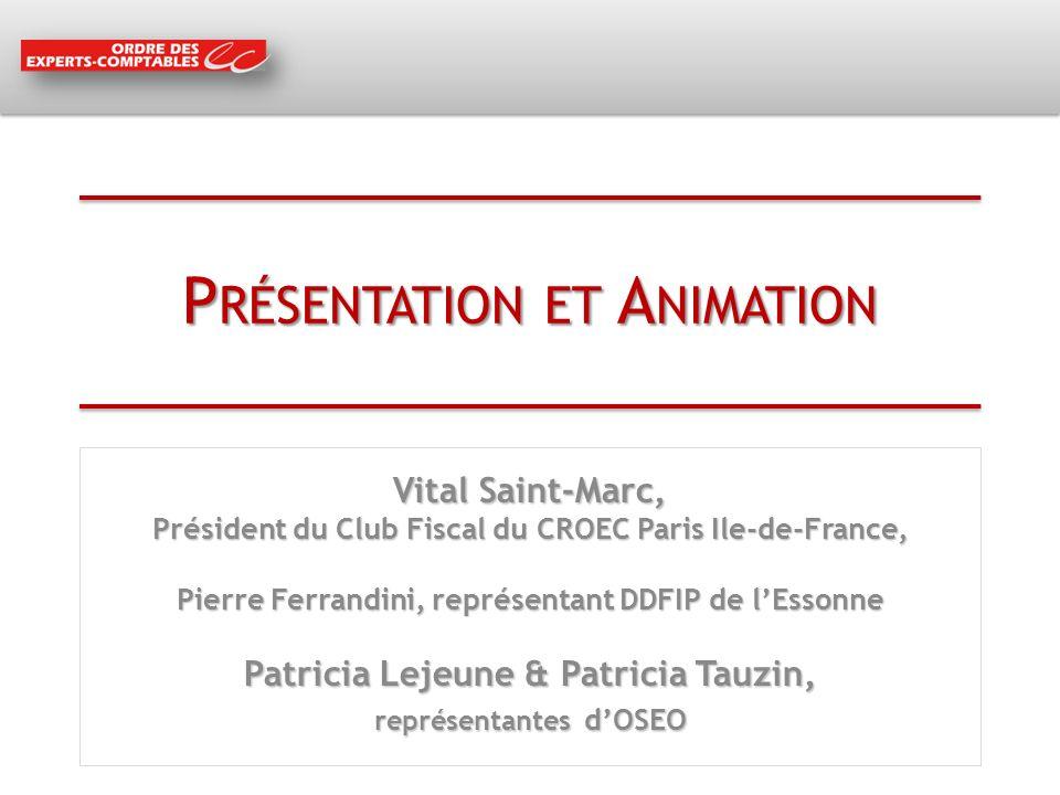 Présentation et Animation
