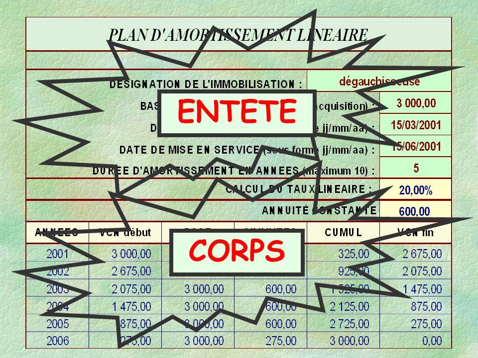 ENTETE CORPS