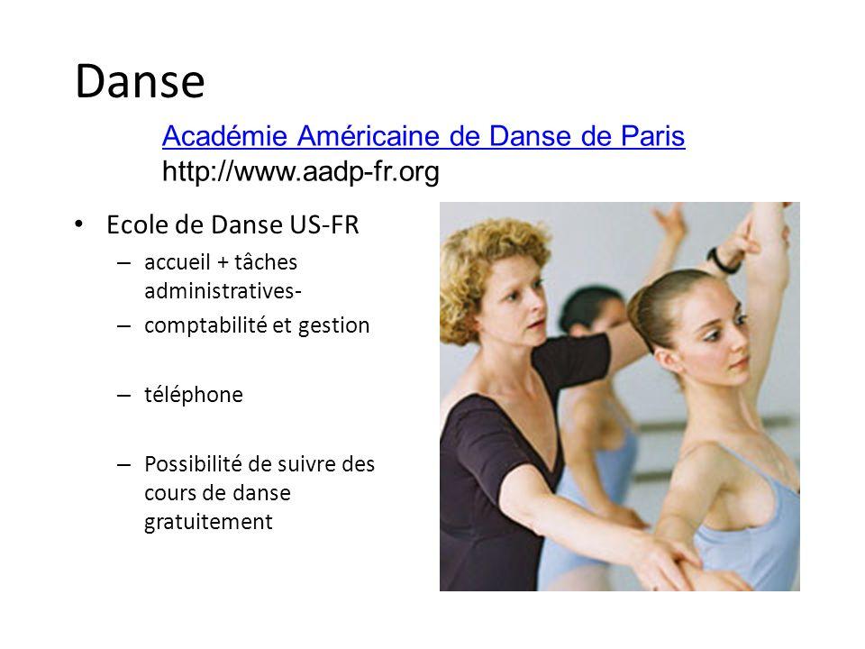 Danse Académie Américaine de Danse de Paris http://www.aadp-fr.org