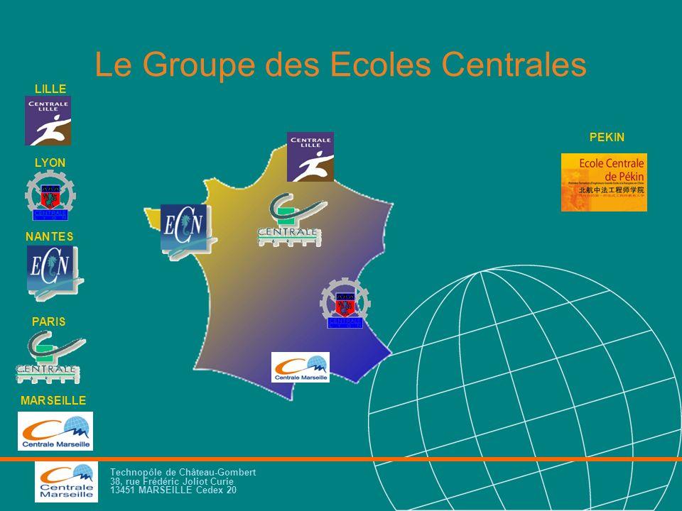 Le Groupe des Ecoles Centrales