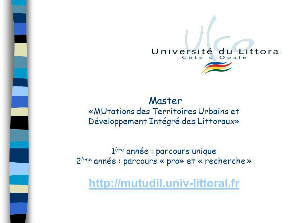 http://mutudil.univ-littoral.fr Master