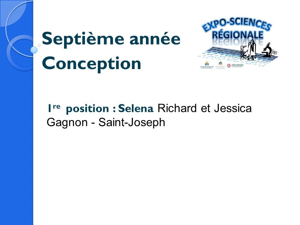 Septième année Conception