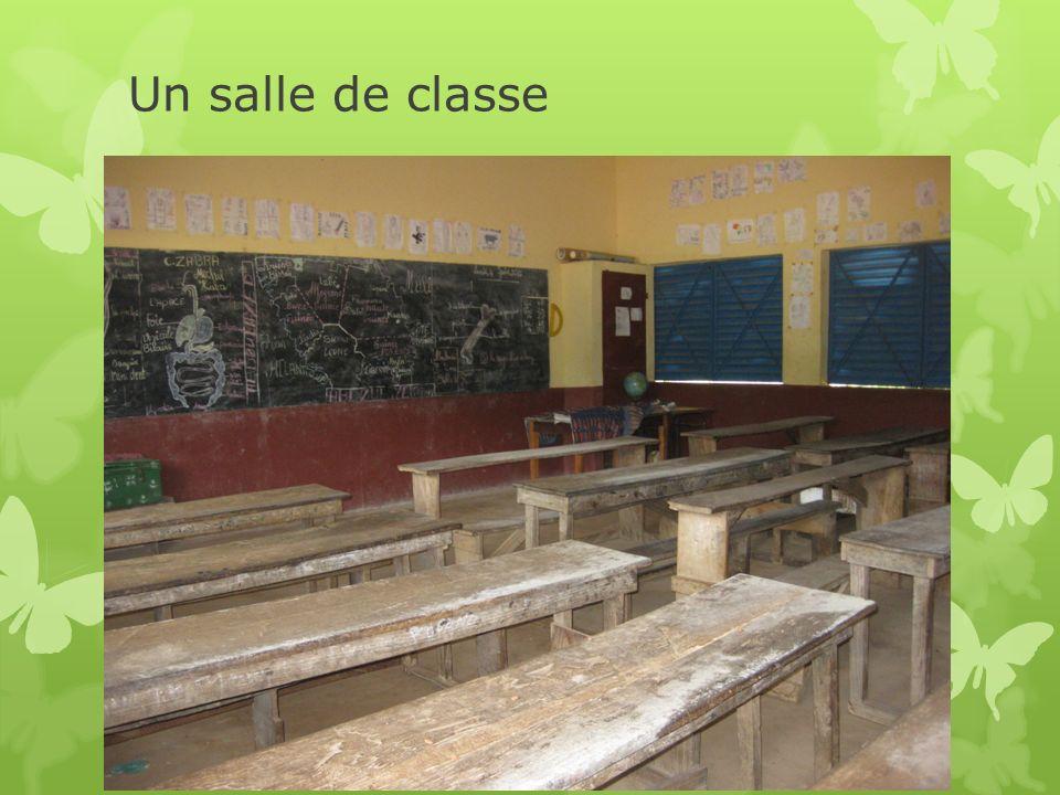 Un salle de classe