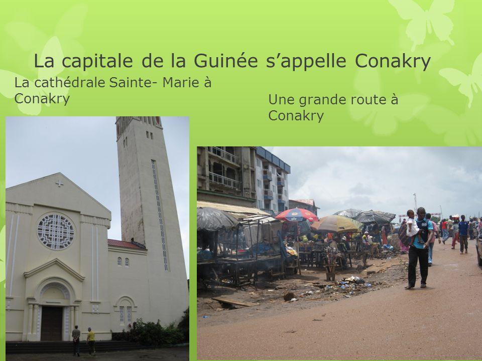 La capitale de la Guinée s'appelle Conakry