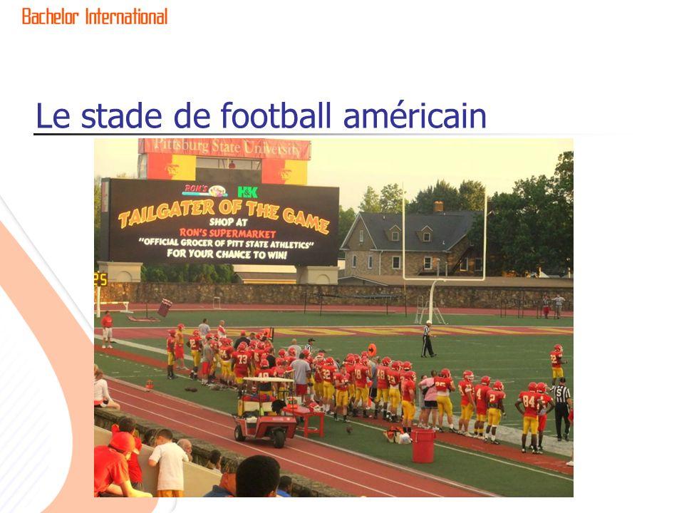 Le stade de football américain