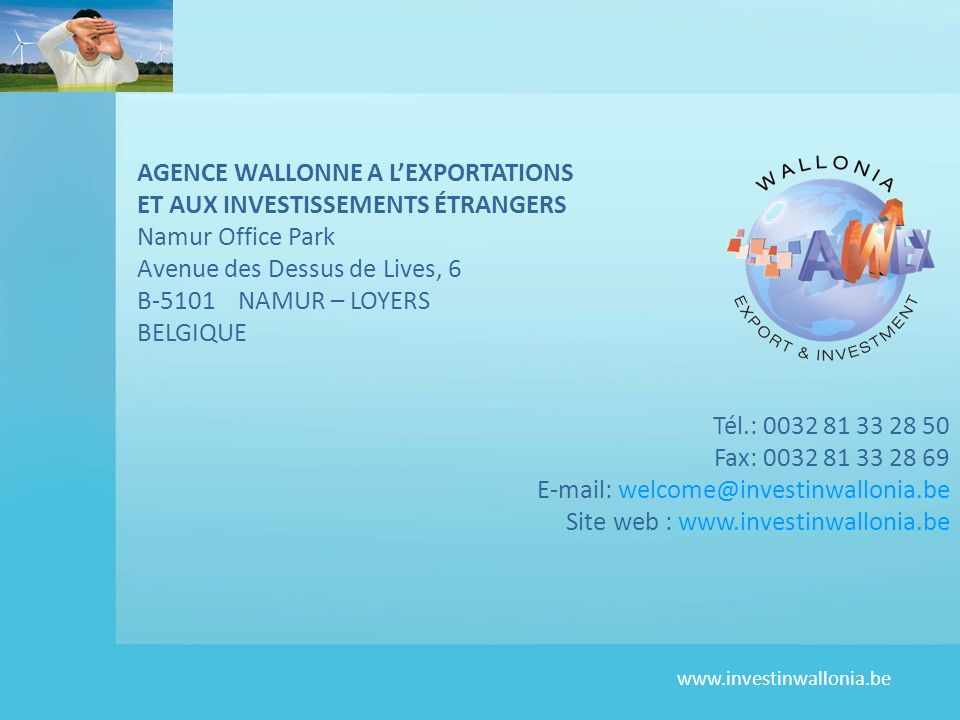 AGENCE WALLONNE A L'EXPORTATIONS
