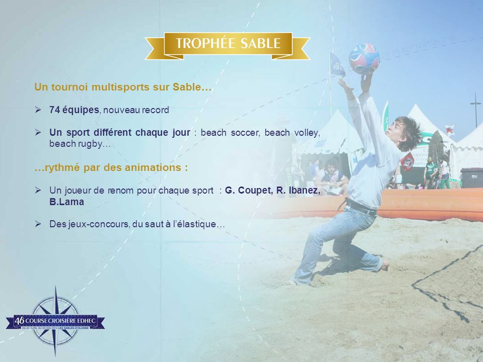 Un tournoi multisports sur Sable…