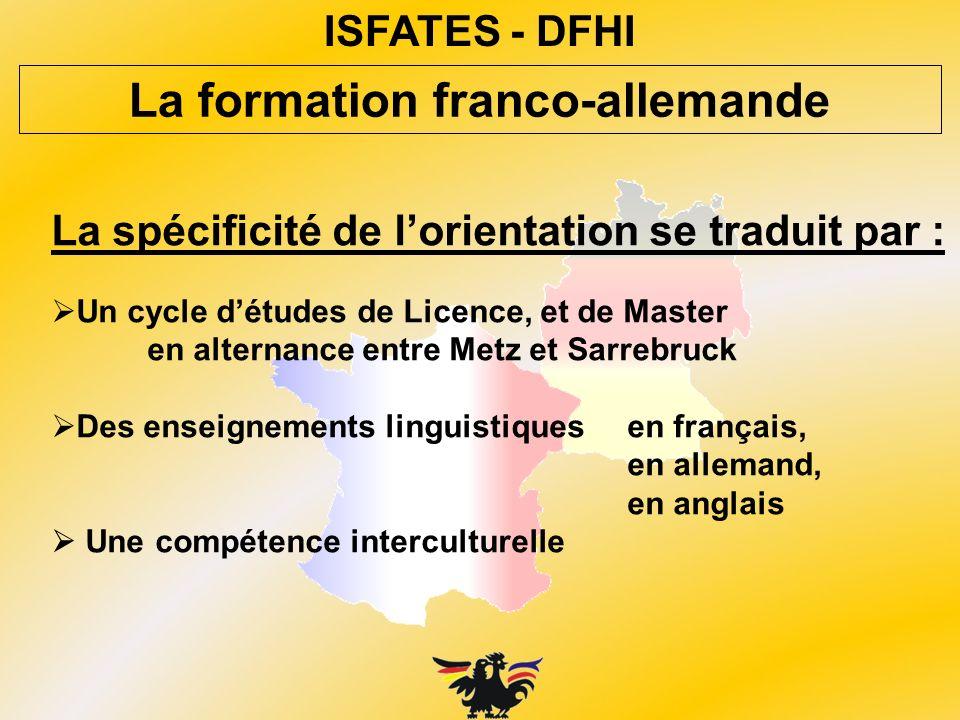 La formation franco-allemande