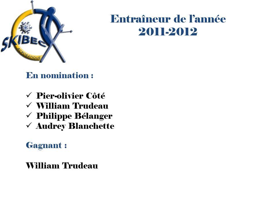 Entraîneur de l'année 2011-2012