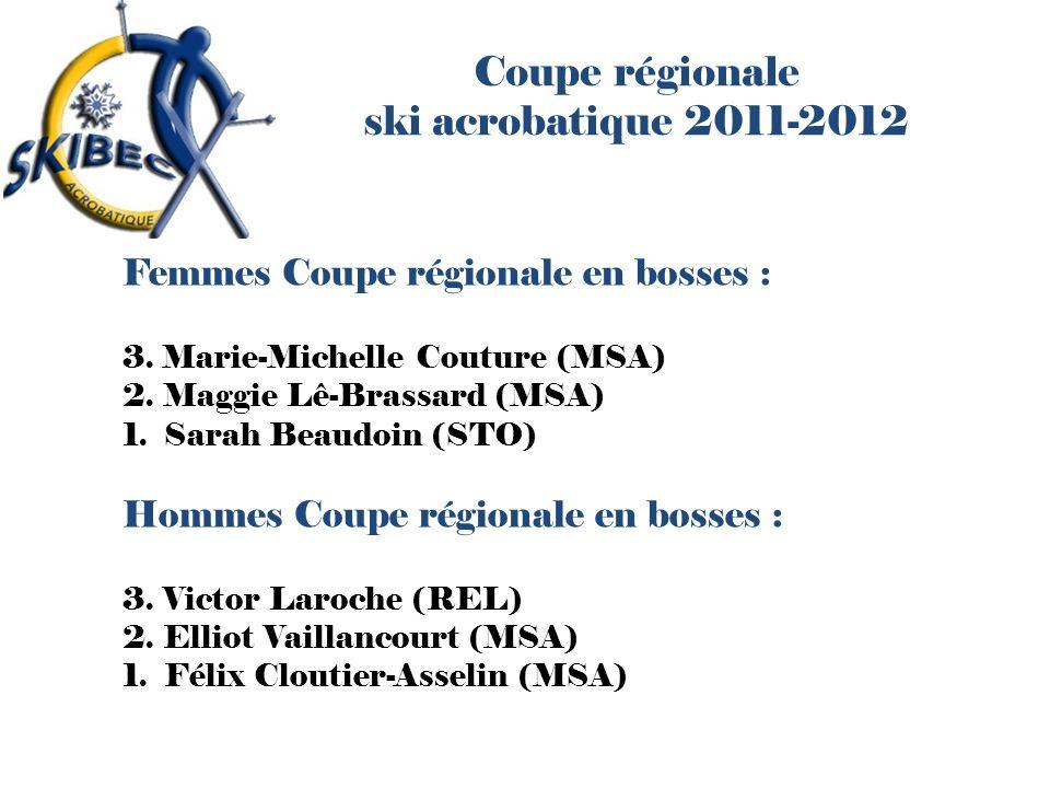 Coupe régionale ski acrobatique 2011-2012