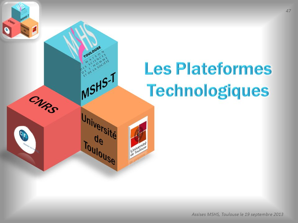 Les Plateformes Technologiques