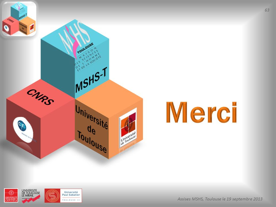 MSHS-T CNRS Merci Université de Toulouse