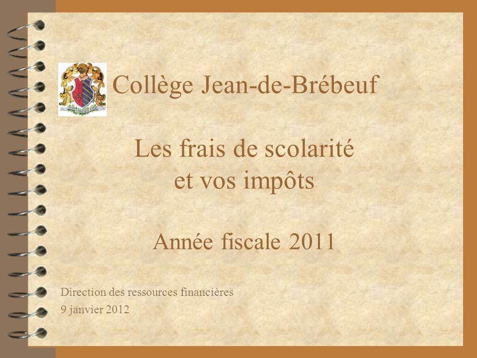 Direction des ressources financières 9 janvier 2012