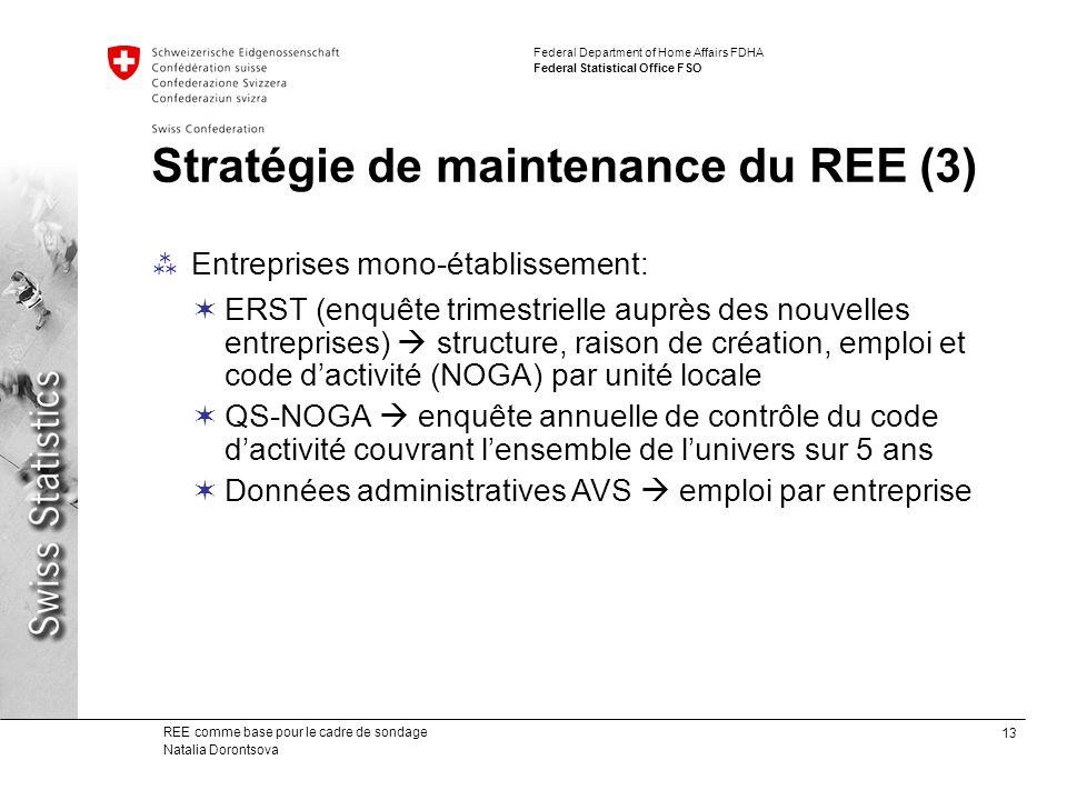 Stratégie de maintenance du REE (3)