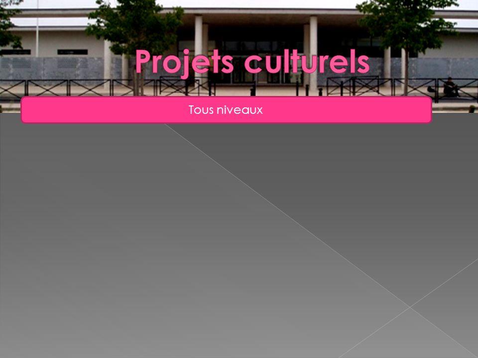 Projets culturels Tous niveaux