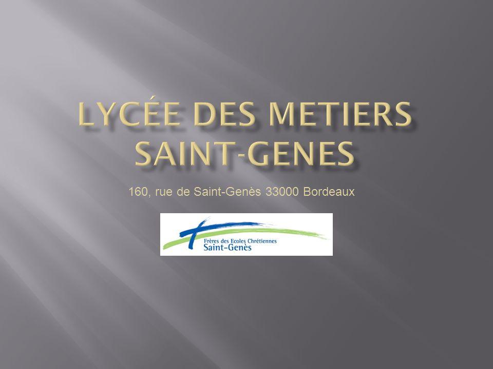 Lycée des metiers saint-genes