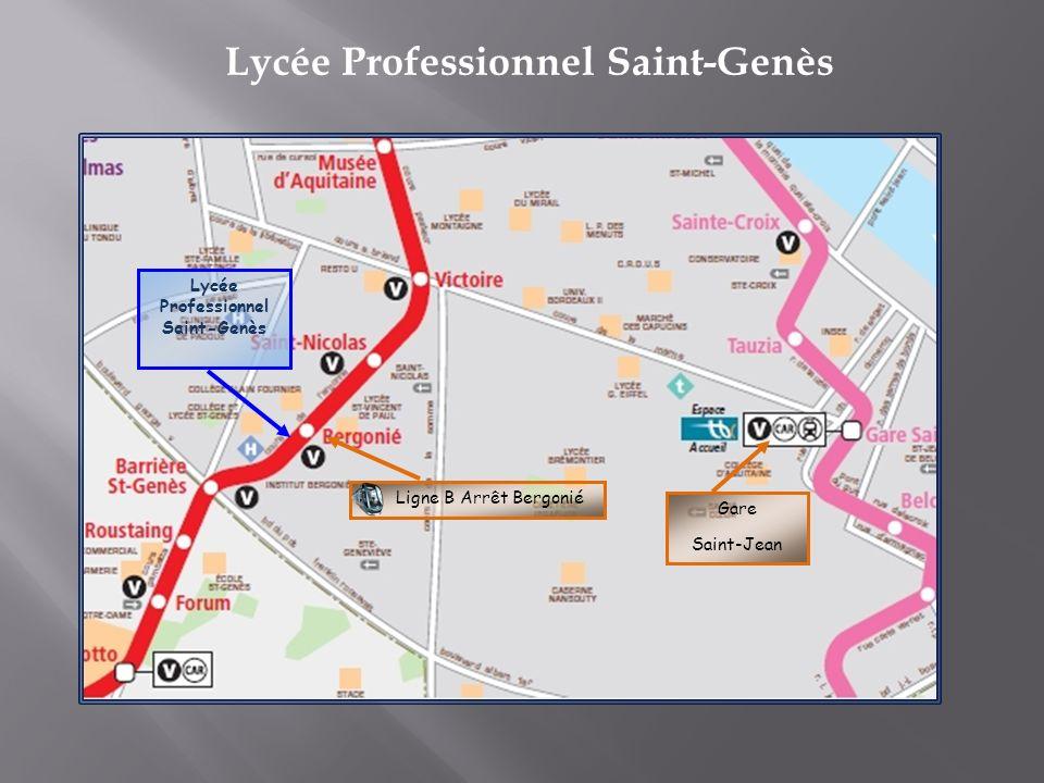 Lycée Professionnel Saint-Genès