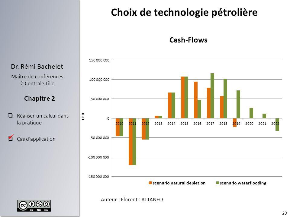 Choix de technologie pétrolière