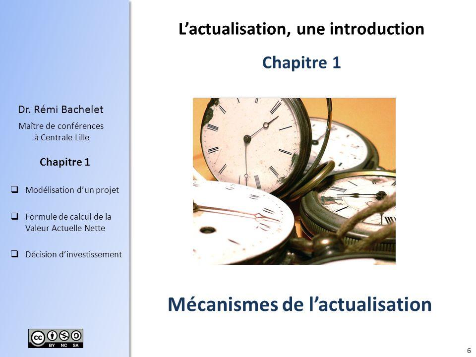 L'actualisation, une introduction Mécanismes de l'actualisation