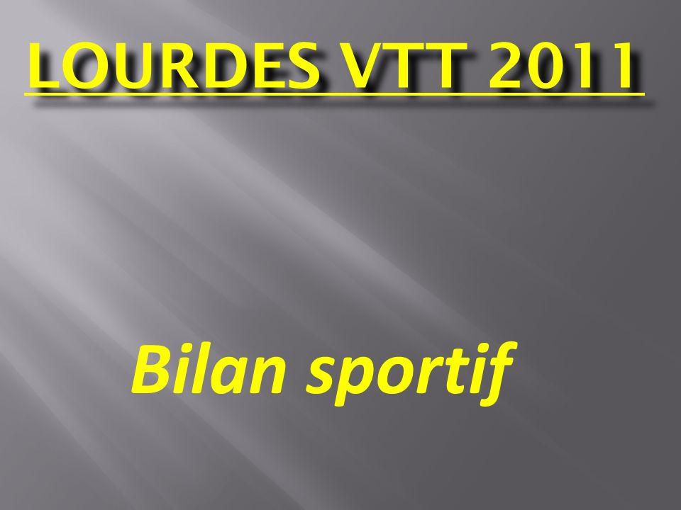 LOURDES VTT 2011 Bilan sportif