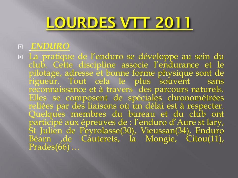 LOURDES VTT 2011 ENDURO.