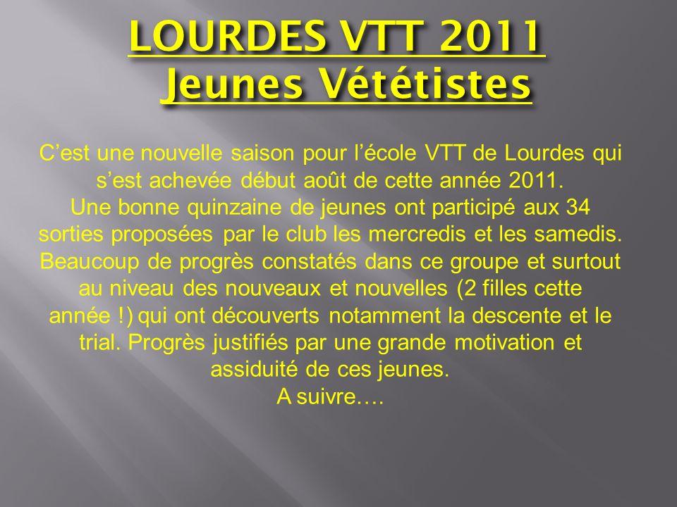 LOURDES VTT 2011 Jeunes Vététistes