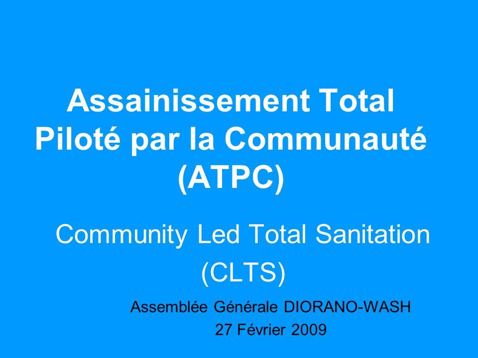 Assainissement Total Piloté par la Communauté (ATPC)