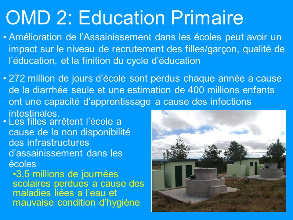 OMD 2: Education Primaire