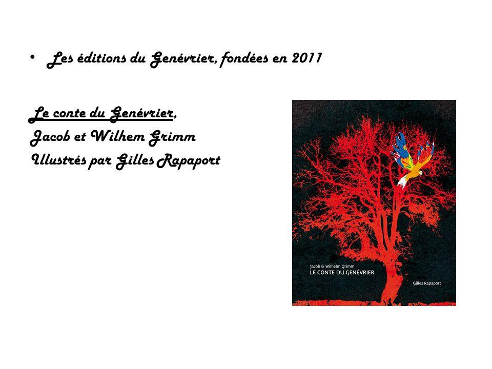 Les éditions du Genévrier, fondées en 2011