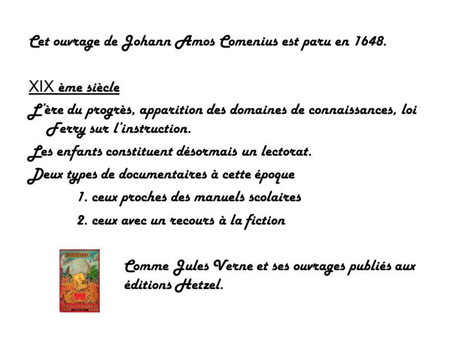 Cet ouvrage de Johann Amos Comenius est paru en 1648