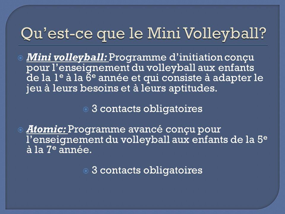 Qu'est-ce que le Mini Volleyball