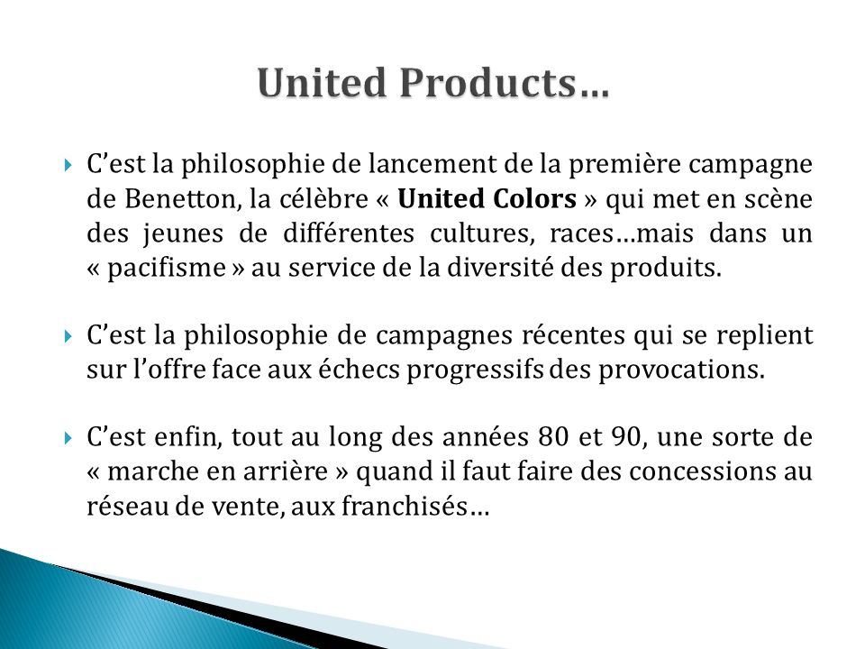 United Products…