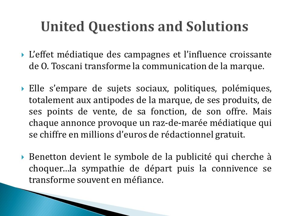 United Questions and Solutions