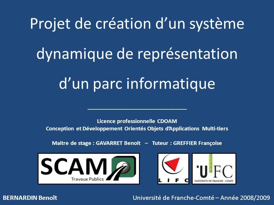 BERNARDIN Benoît Université de Franche-Comté – Année 2008/2009