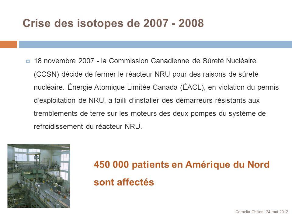 Crise des isotopes de 2007 - 2008