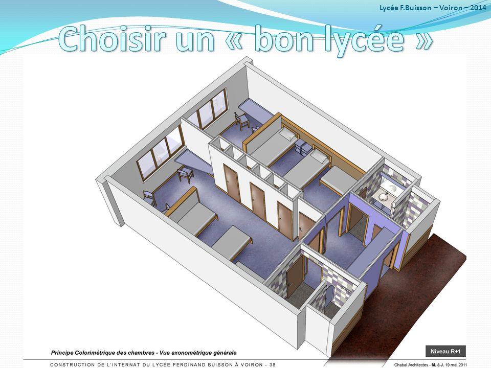 Lycée F.Buisson – Voiron – 2014