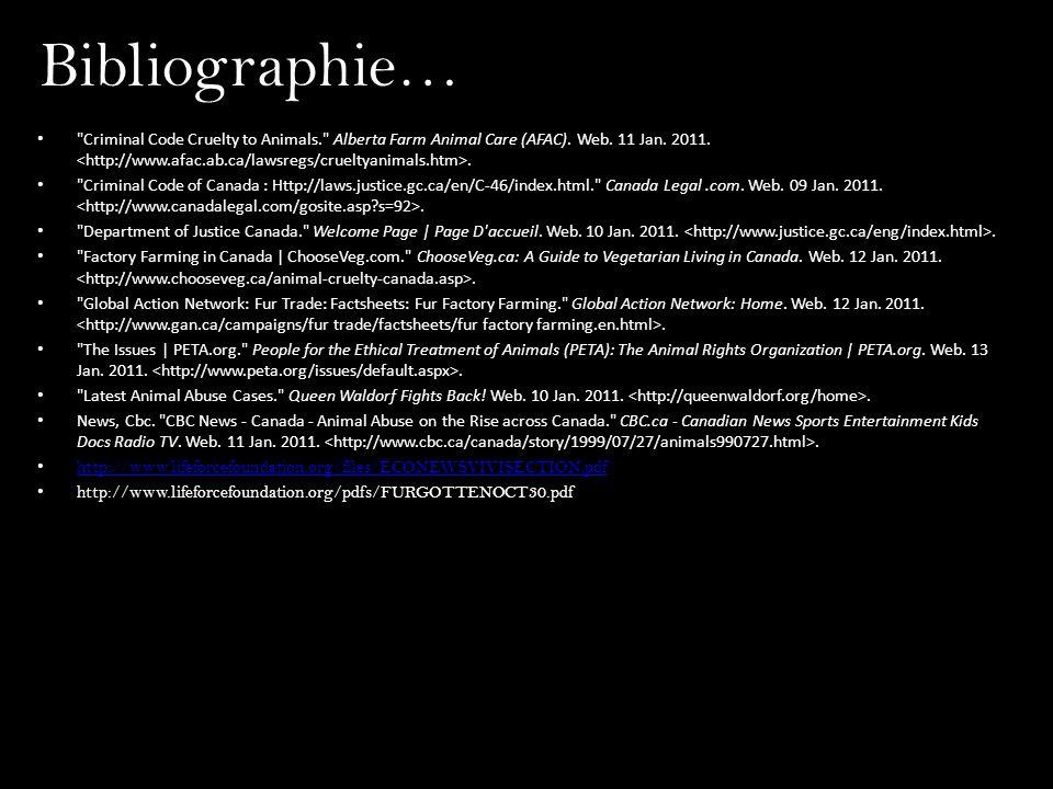 Bibliographie…