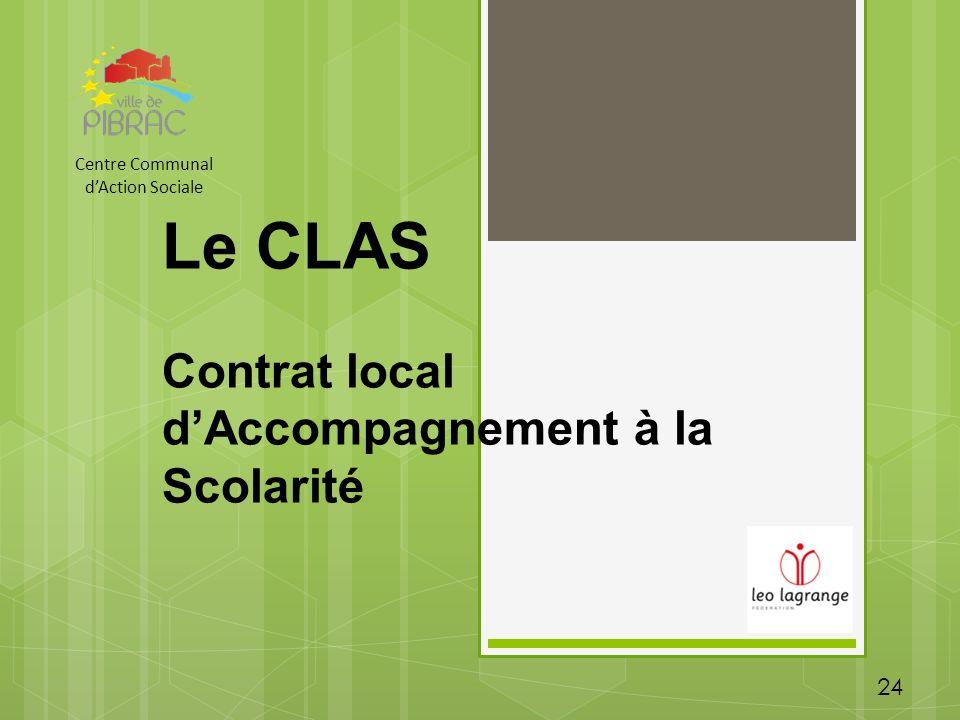 Le CLAS Contrat local d'Accompagnement à la Scolarité