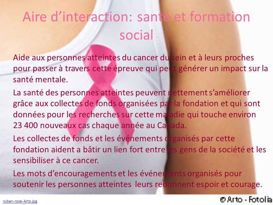 Aire d'interaction: santé et formation social