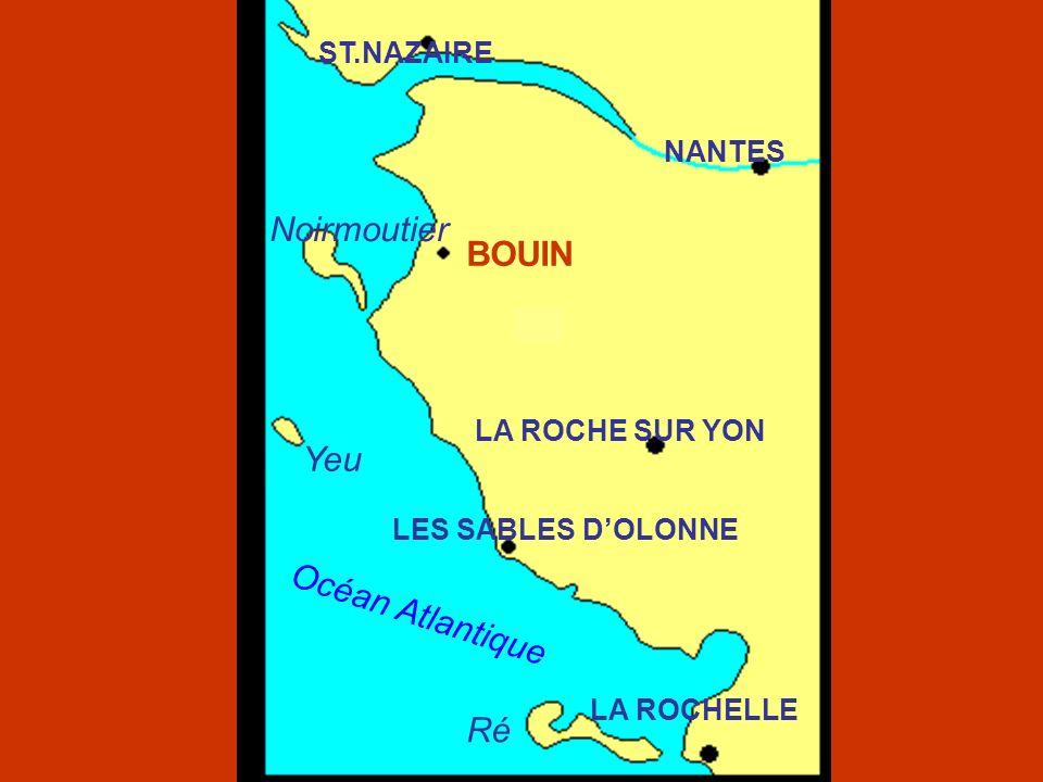 Noirmoutier BOUIN Yeu Océan Atlantique Ré ST.NAZAIRE NANTES