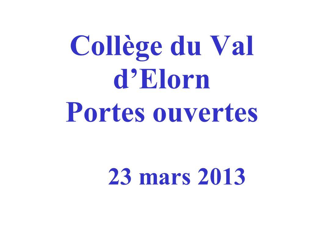 Collège du Val d'Elorn Portes ouvertes