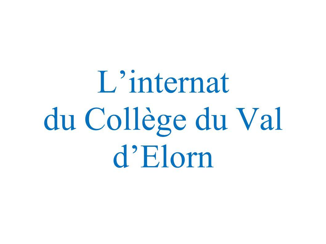 L'internat du Collège du Val d'Elorn