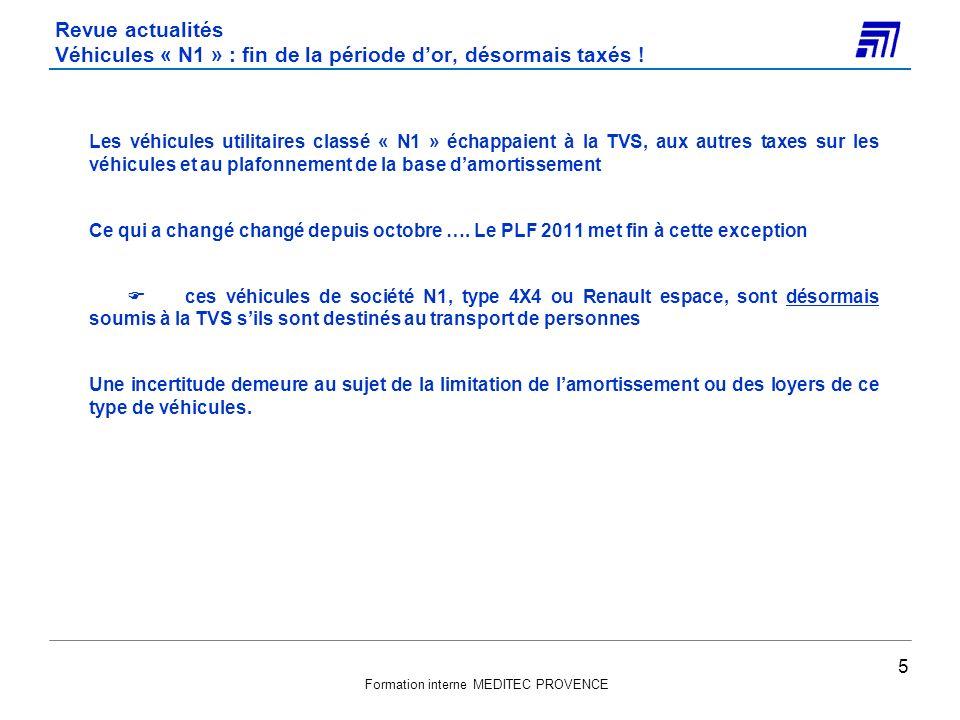 Revue actualités Véhicules « N1 » : fin de la période d'or, désormais taxés !