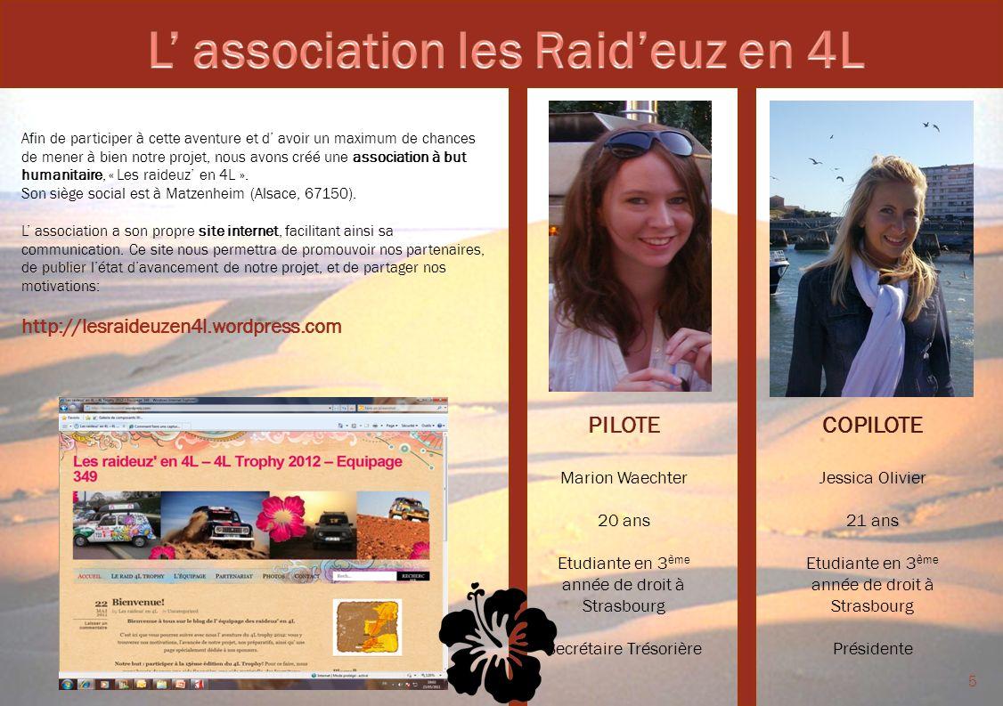 L' association les Raid'euz en 4L