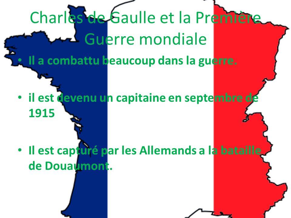 Charles de Gaulle et la Première Guerre mondiale