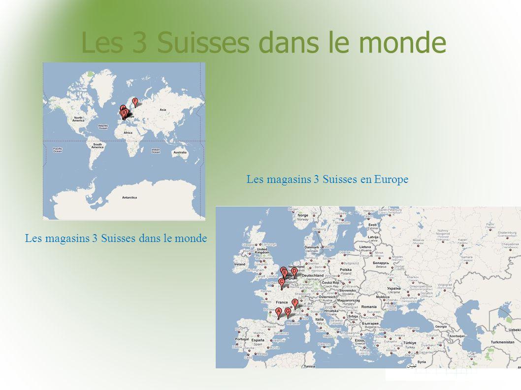 Les 3 Suisses dans le monde