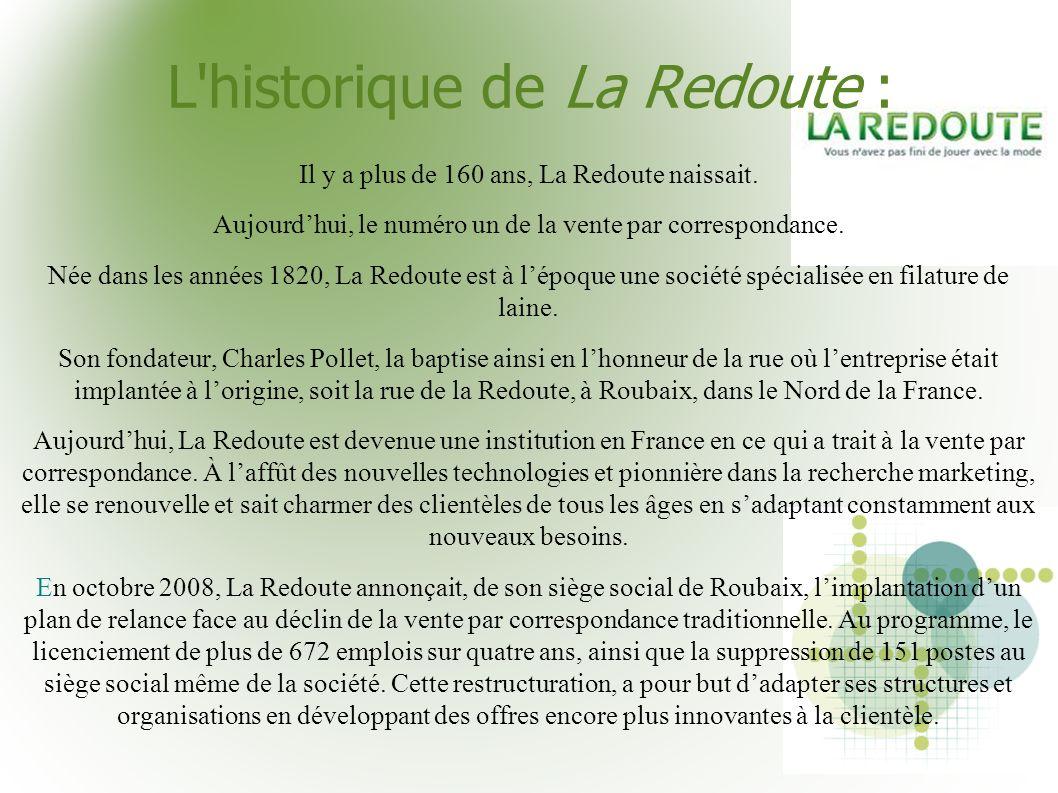 L historique de La Redoute :