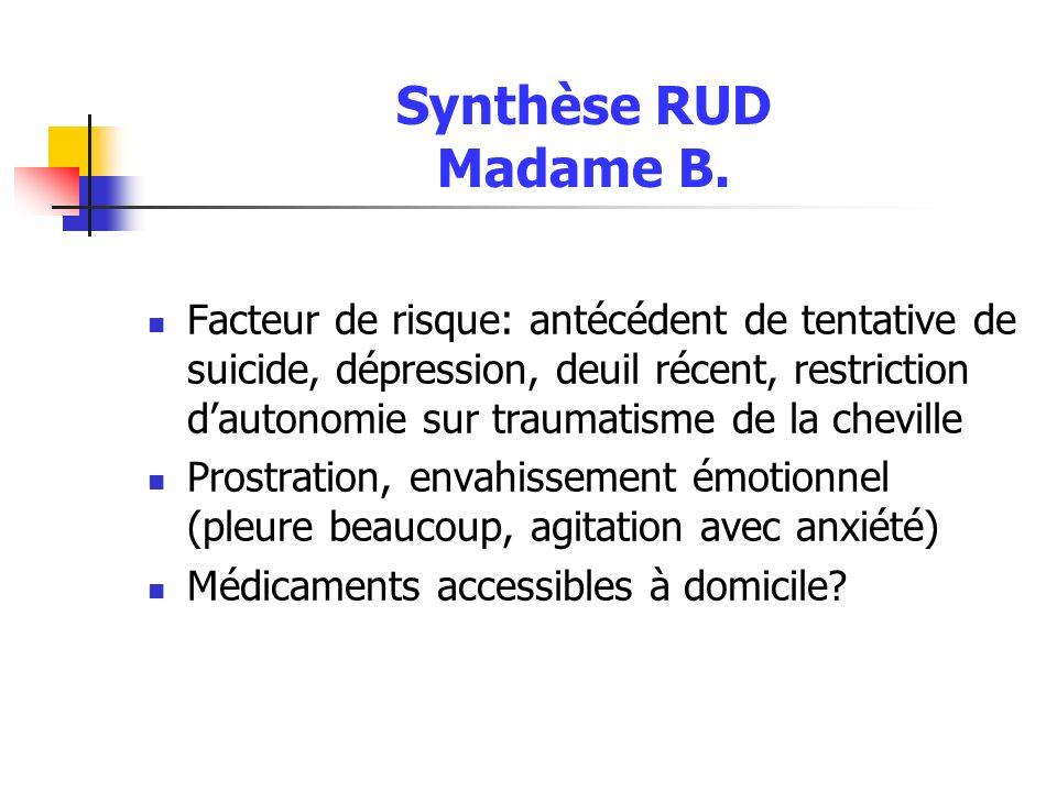 Synthèse RUD Madame B.