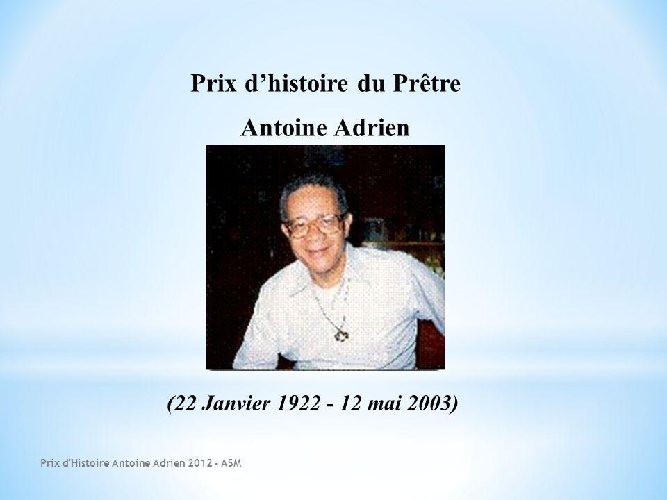Prix d'histoire du Prêtre